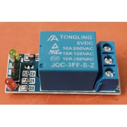 5V 1 Channel Relay Module Low Level Trigger Relay Board for Arduino ARM PIC AVR MCU with LED Indicator Light