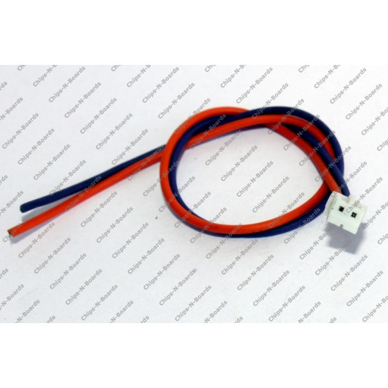 2 Pin Polarized Header Cable 2mm Pitch - Relimate Connectors