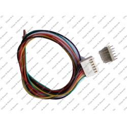 6 Pin Polarized Header Cable - Relimate Connectors