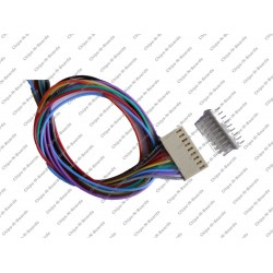 9 Pin Polarized Header Cable - Relimate Connectors