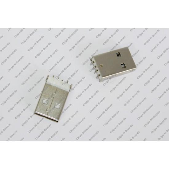 USB Standard-A Plug Connector-PCB Mount