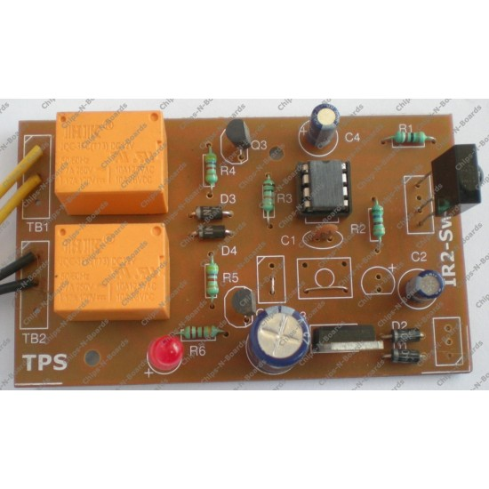 2 Channel IR Remote Control Board