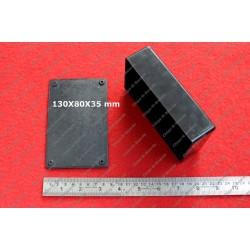 Plastic Enclosure 130x80x35mm (Outer dimension)