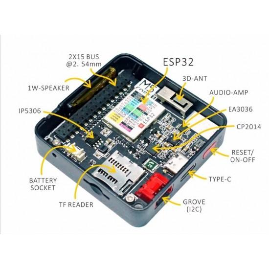 HITSAN INCORPORATION M5Stack ESP32 MPU9250 9Axies Motion Sensor Core Development Kit Extensible IoT Development Board