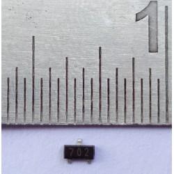 Transistor 2N7002LT1G Transistor 702 SOT-23 N-Channel 60V/115mA SMD Power MOSFET - 5Pcs pack