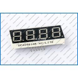 4-Digit Seven Segment LED Display -Size 0.56 Inch