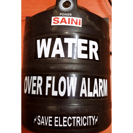 Water Tank Overflow Alarm With Voice Sound Security System
