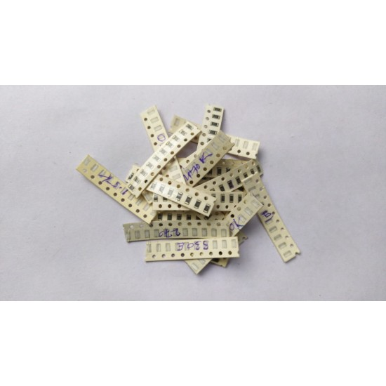 Mixed SMD Resistance 1/4 Watt Tolerance 5%  1206 Package - Pack of 190 Pcs - 10Pcs Each of - 1k  10k  22k  47k  100k  1.5k  2.2k  4.7k  9.1k  220k  470k  150 Ohm  220 Ohm  270 Ohm  330Ohm  470 Ohm  560 Ohm  680 Ohm  820 Ohm