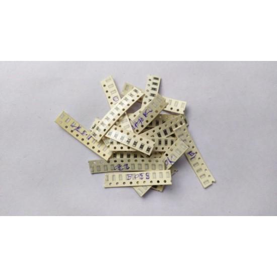 Mixed SMD Resistance 1/4 Watt Tolerance 5%  1206 Package - Pack of 190 Pcs - 10Pcs Each of - 1k  10k  22k  47k  100k  1.5k  2.2k  4.7k  9.1k  220k  470k  150 Ohm  220 Ohm  270 Ohm  330Ohm  470 Ohm  560 Ohm  680 Ohm  820 Ohm