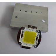 20W High Power White LED With Heatsink