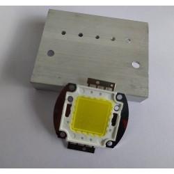20W High Power White LED With Heatsink