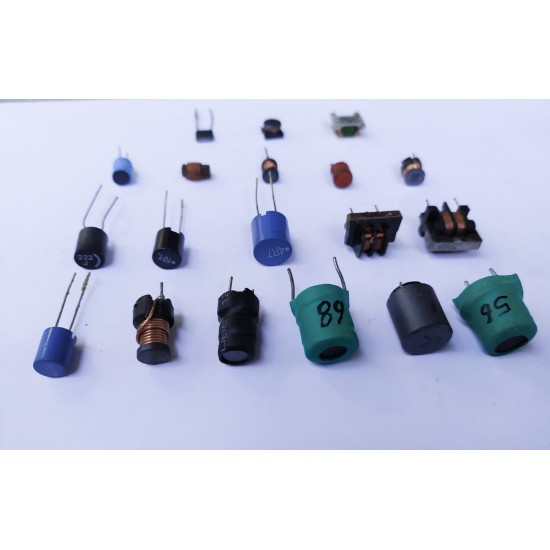 Mixed Choke and Coils inductor Pack OF 19 Pcs