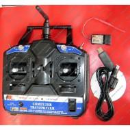 Radio Controller Remote Control RC6 Channel - 2.4GHz