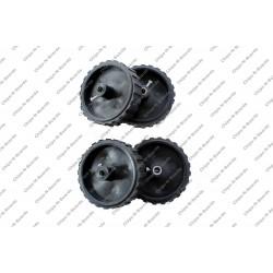 Wheel - Dia-7cm,Width-20mm,Hole-6mm
