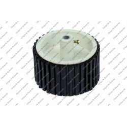 Wheel - Dia-10cm,Width-40mm,Hole-6mm - Metal Bush