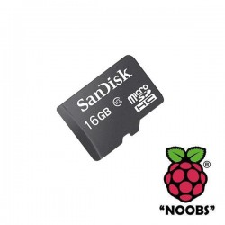NOOBS Operating System for Raspberry Pi on 16GB Card