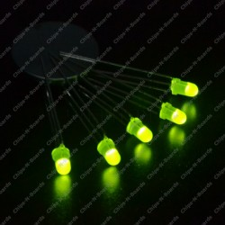 LED -3mm Diffused Round Shape