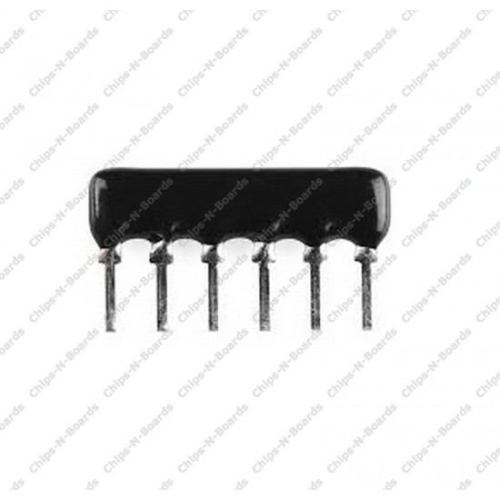 Resistance Network 10K ohm - 6 Pin