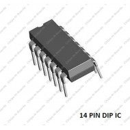 LM324 - Low Power Quad Operational Amplifier Op-Amp