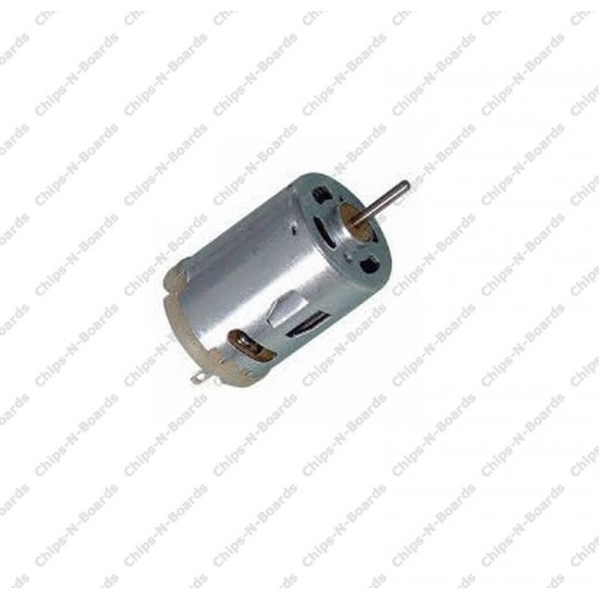 Brushed Gearless Motor 15000 RPM