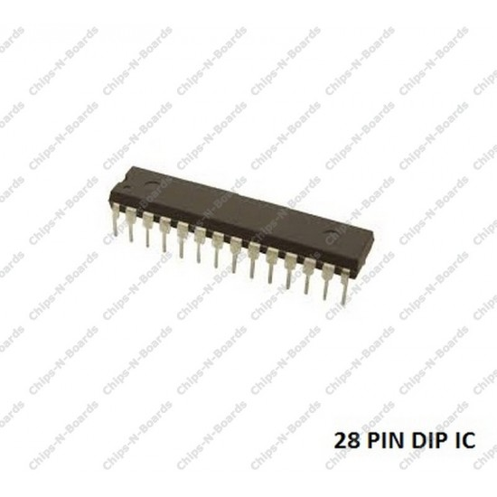 ATmega168 Microcontroller with Arduino Bootloader