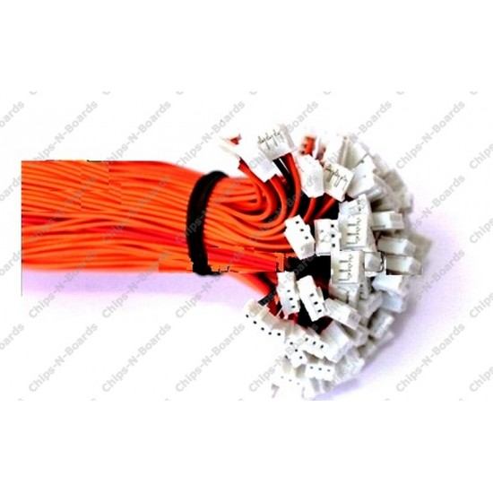 3 Pin Polarized Header Cable 2mm Pitch