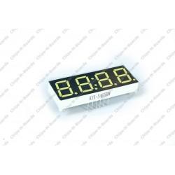 4-Digit Clock Seven Segment LED Display