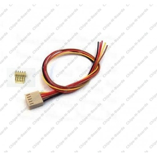 5 Pin Polarized Header Cable - Relimate Connectors