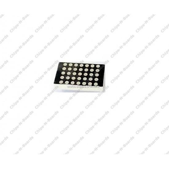 5x7 LED Matrix Display