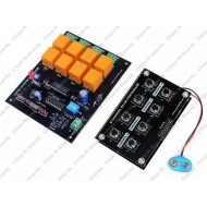 Remote Control Board 8 Channel RF - 433/315 MHz with Relay