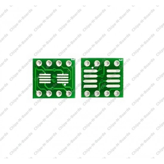 8 Pin SMD SSOP8,SOP8 -0.65mm,1.27mm to DIP PCB