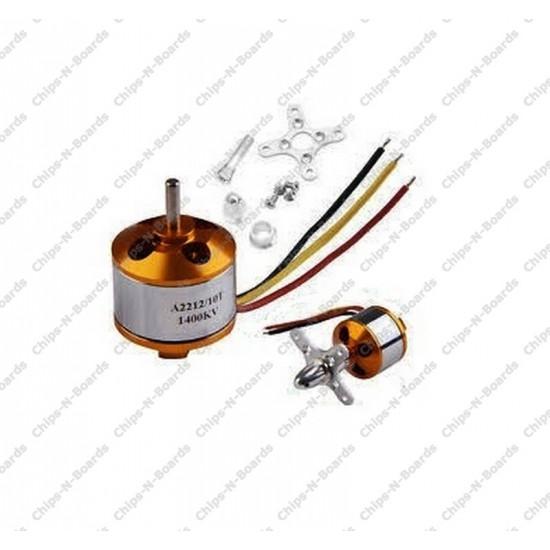 Brushless Motor A2212 - KV1000 Outrunner