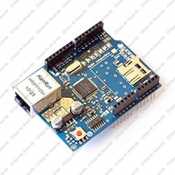 Arduino Ethernet Shield (Wiznet W5100 Ethernet Shield)
