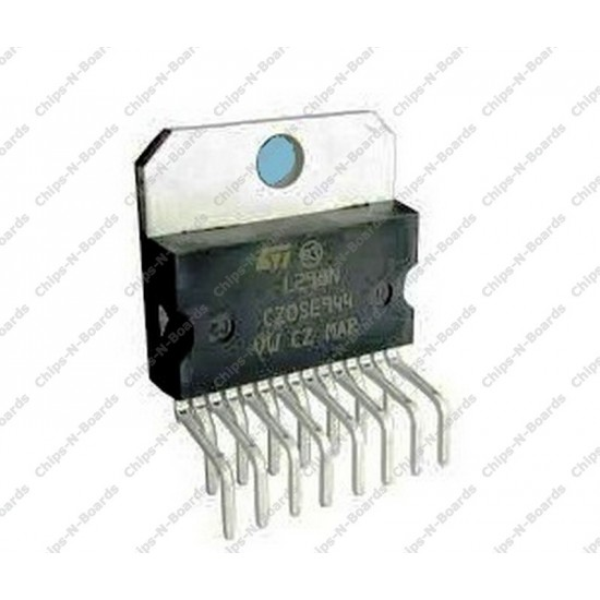 L298N - H-Bridge Motor Driver IC (Buy from Partner,See description)