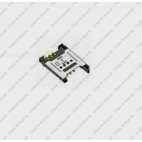 SIM Connector- Lock Type Metal Body