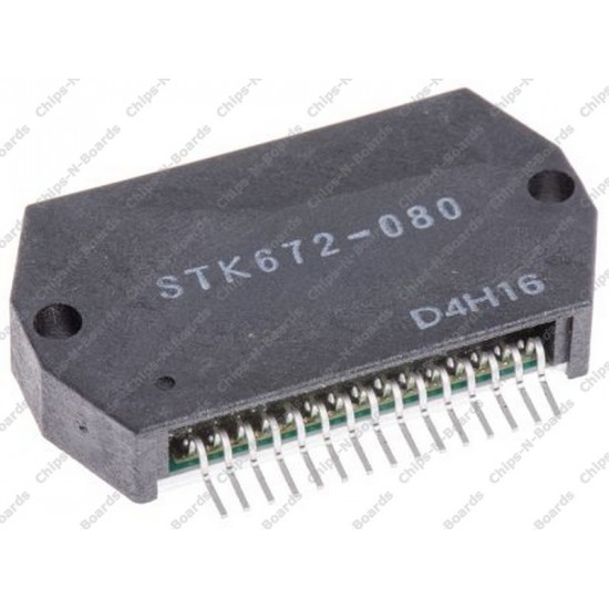 STK-672-080 - Stepper motor driver IC