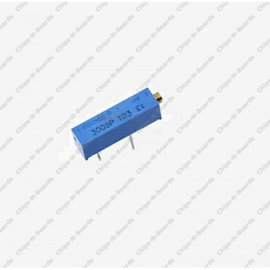 Potentiometer Trimpot 10K ohm - Variable Resistance - 3006P Package