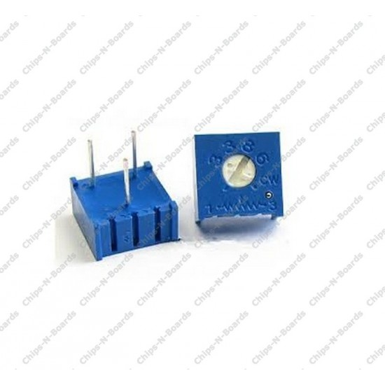 Potentiometer Trimpot 10K ohm - Variable Resistance - 3386P Package