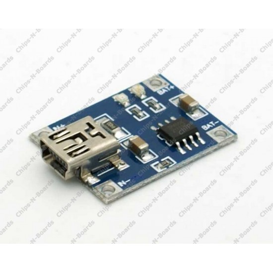USB Li-Ion Battery Charger - single cell 3.7v – 1A