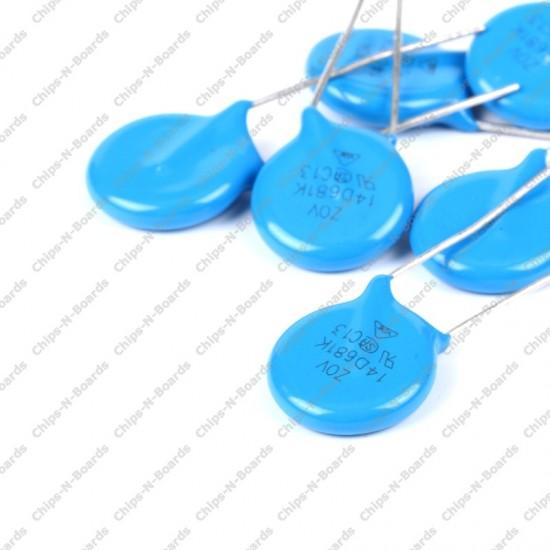 Varistors VDR 14D471K
