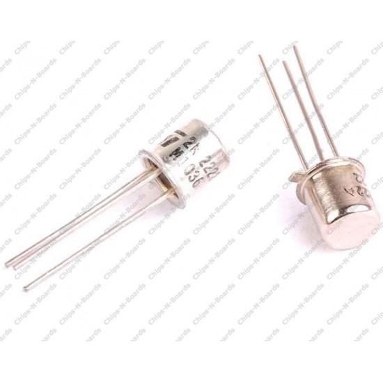 Transistor 2N2222 NPN TO-18 Metal Package