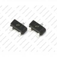 Transistor 2N3904 NPN SOT-23 SMD Package - 5pcs pack