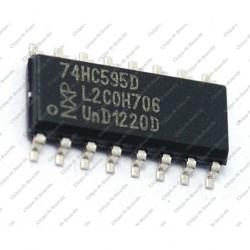 74HC595 - 8-bit Shift Register- SMD Package