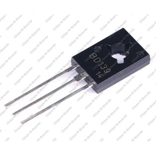 Transistor BD139 NPN SOT-32 Plastic Package