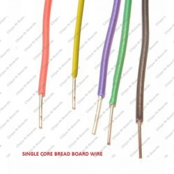 Bread Board Connection Wire per Meter - 22SWG