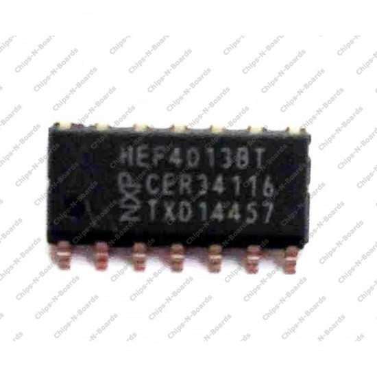 CD4013 - Dual D Flip Flop (SMD Package)