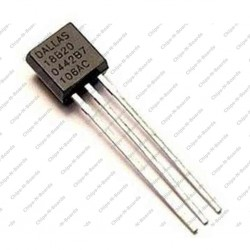 DS18B20 - 1Wire Digital Thermometer IC