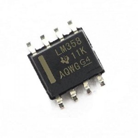 LM358 Low Power Dual Operational Amplifier Op-Amp SMD Package