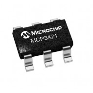 ADC MCP3421 - 18-Bit ADC Analog to Digital Converter with I2C Interface -CA4H SMD
