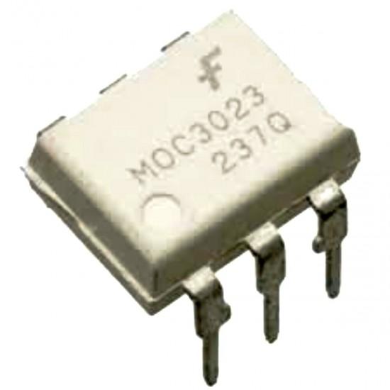 OptoCoupler-Optoisolator MOC3023-M -Random Phase Triac Driver Output Coupler